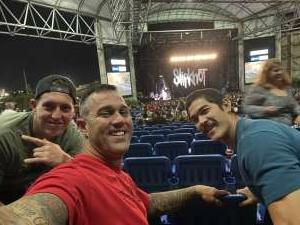 Derek attended Knotfest Roadshow: Slipknot, Killswitch Engage, Fever 333, Code Orange on Oct 19th 2021 via VetTix
