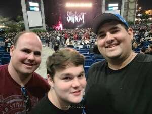 Aaron attended Knotfest Roadshow: Slipknot, Killswitch Engage, Fever 333, Code Orange on Oct 19th 2021 via VetTix