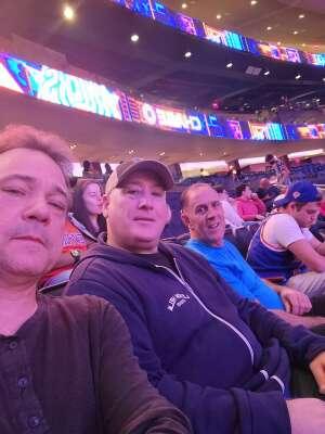 Leo K attended New York Knicks vs. Washington Wizards - NBA on Oct 15th 2021 via VetTix