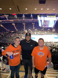 James  attended New York Knicks vs. Washington Wizards - NBA on Oct 15th 2021 via VetTix