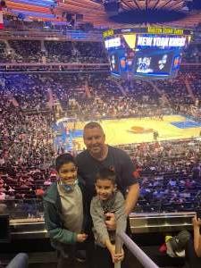JR attended New York Knicks vs. Washington Wizards - NBA on Oct 15th 2021 via VetTix