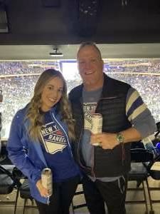 Ken D attended New York Rangers vs. Dallas Stars - NHL on Oct 14th 2021 via VetTix