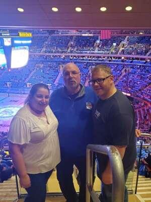 Scott attended New York Rangers vs. Dallas Stars - NHL on Oct 14th 2021 via VetTix