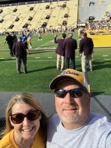 Cara A. attended Louisiana State University Tigers vs. Florida - NCAA Football on Oct 16th 2021 via VetTix