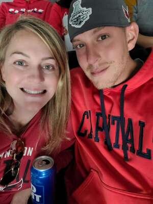 Jillian attended Washington Capitals vs. Colorado Avalanche - NHL on Oct 19th 2021 via VetTix