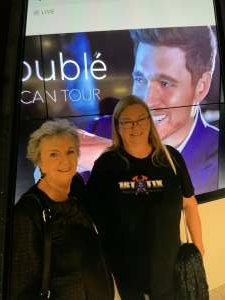Diana Powers attended An Evening With Michael Buble in Concert on Oct 15th 2021 via VetTix