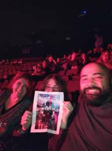 TS attended An Evening With Michael Buble in Concert on Oct 15th 2021 via VetTix