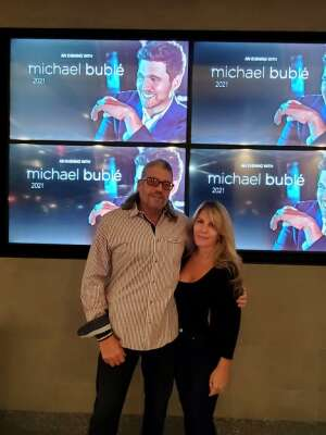 Wil attended An Evening With Michael Buble in Concert on Oct 15th 2021 via VetTix