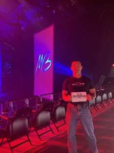 UB attended An Evening With Michael Buble in Concert on Oct 15th 2021 via VetTix