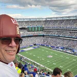 Charles attended New York Giants vs. Los Angeles Rams - NFL on Oct 17th 2021 via VetTix