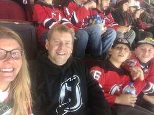 Carolyn attended New Jersey Devils v  Washington Capitals on Oct 21st 2021 via VetTix