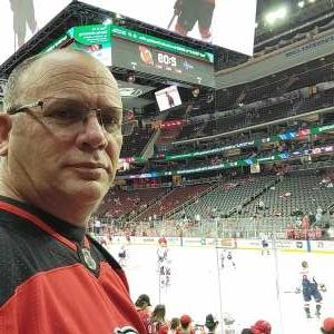 Charles attended New Jersey Devils v  Washington Capitals on Oct 21st 2021 via VetTix