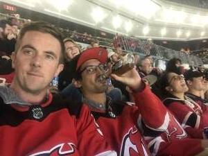 Martin attended New Jersey Devils vs. Seattle Kraken - NHL on Oct 19th 2021 via VetTix