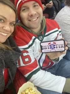 Anthony attended New Jersey Devils vs. Seattle Kraken - NHL on Oct 19th 2021 via VetTix