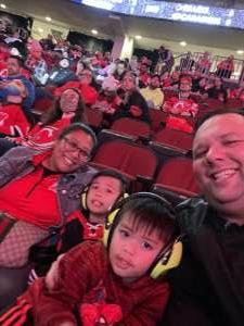 J. D. attended New Jersey Devils vs. Seattle Kraken - NHL on Oct 19th 2021 via VetTix