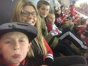 Carolyn attended New Jersey Devils vs. Seattle Kraken - NHL on Oct 19th 2021 via VetTix