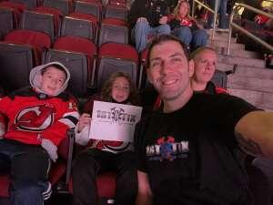 Brian D attended New Jersey Devils vs. Seattle Kraken - NHL on Oct 19th 2021 via VetTix