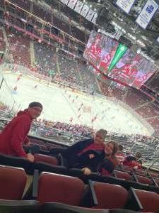 Brandon attended New Jersey Devils vs. Seattle Kraken - NHL on Oct 19th 2021 via VetTix