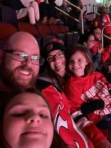 Drew attended New Jersey Devils vs. Seattle Kraken - NHL on Oct 19th 2021 via VetTix
