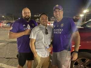 Jonathan R attended Orlando City SC vs. CF Montreal - MLS on Oct 20th 2021 via VetTix