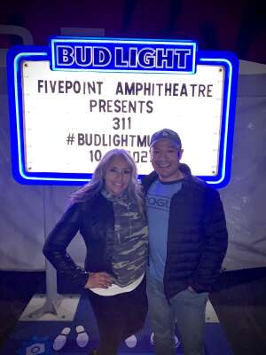 RM attended 311 - Live From the Ride Tour on Oct 15th 2021 via VetTix