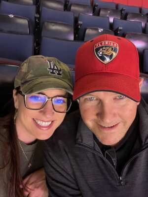 Mike attended Florida Panthers vs. Colorado Avalanche - NHL on Oct 21st 2021 via VetTix